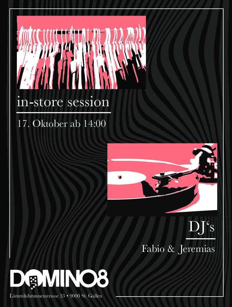 SA. 17. Oktober 2020 DJ Live Acts – FABIO SIVERINO & JEREMIAS