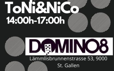 SA. 17. April 2021 DJ Live Acts – ToNi&NiCo